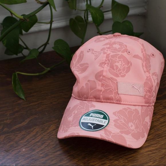 b77bf1136d1 Puma women s floral adjustable baseball cap